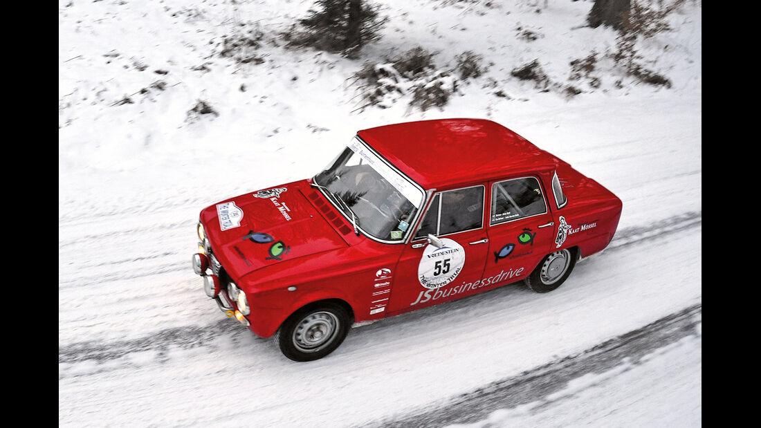 Winter Trail, Alfa Romeo Giulia
