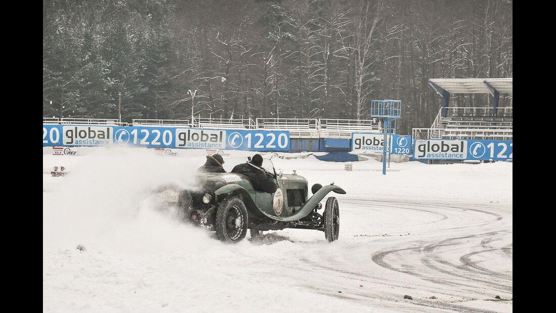 Winter Trail, Cabriolet, Driften
