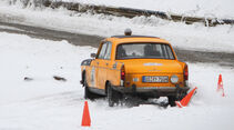 Winter Trail, Peugeot-Taxi, Heckansicht