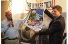 Winter Trail, Plakat, Unterschriften