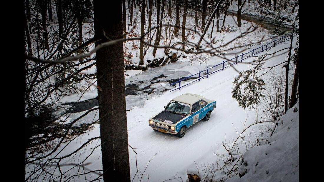 Winter Trail, Sunbeam Avenger