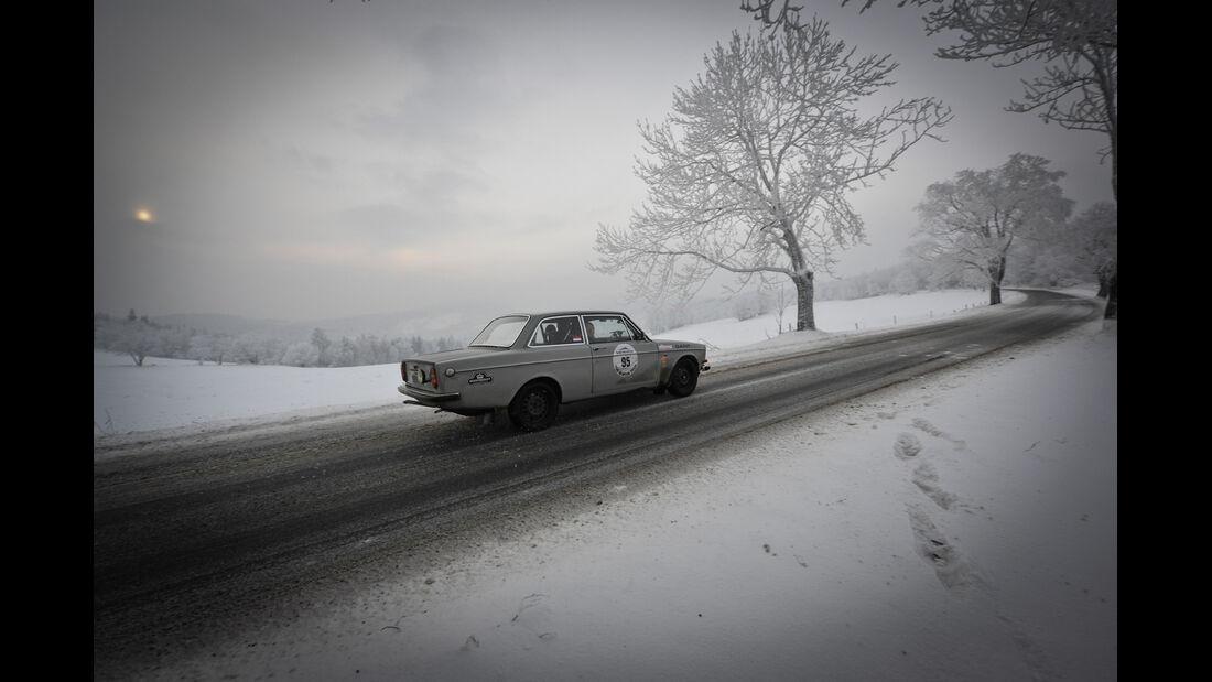 Winter Trail, Volvo, Rennszene