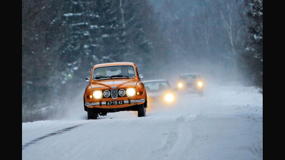 Winter Trail, Volvo, Schneelandschaft