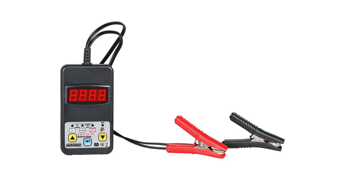 Winter - Wintercheck - Winterfest - Auto - Batterietester