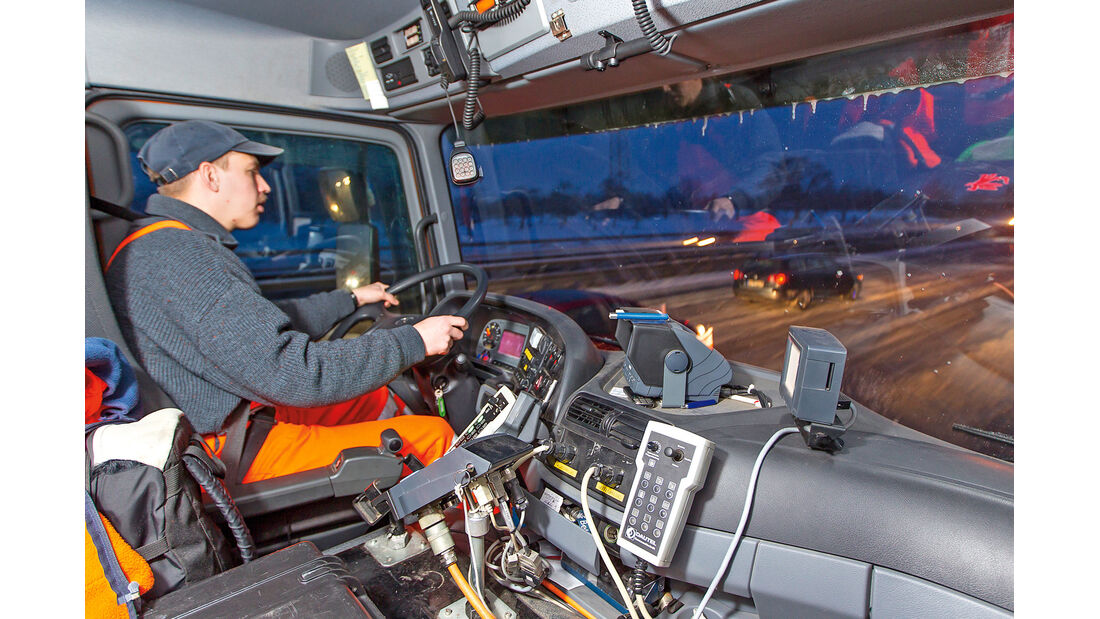 Winterdienst, Cockpit