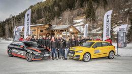 Winterfahrtraining 2020 mit Bridgestone und Audi