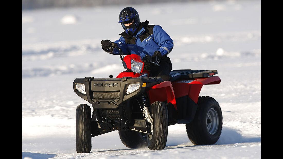 Winterfahrtraining in Nordschweden