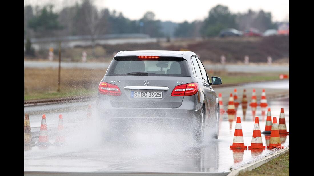 Winterreifen, Mercedes B-Klasse