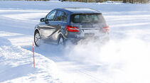 Winterreifen, Mercedes B-Klasse, Heck