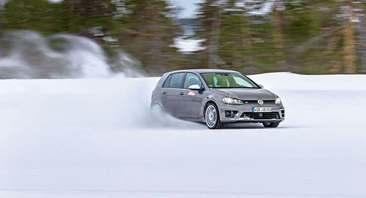 Winterreifen-Test 2015/2016, Dimension 235/35 R19 - VW Golf R