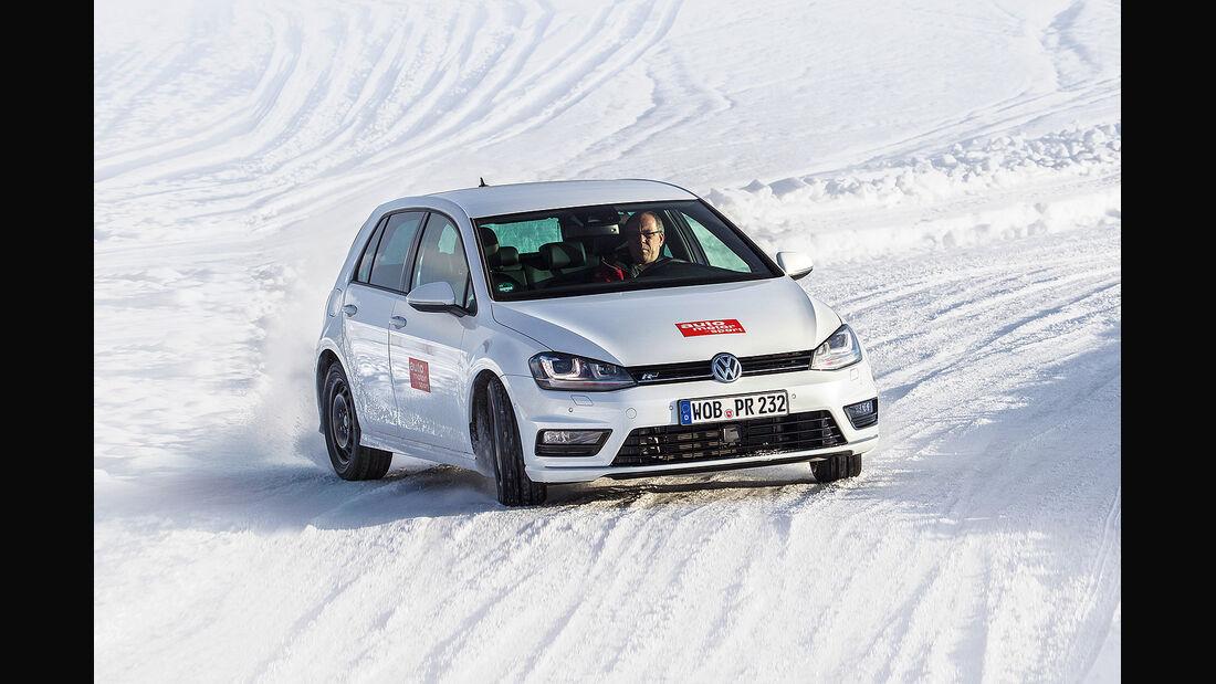 Winterreifentest 2014, Größe 205/55 R 16, VW Golf R