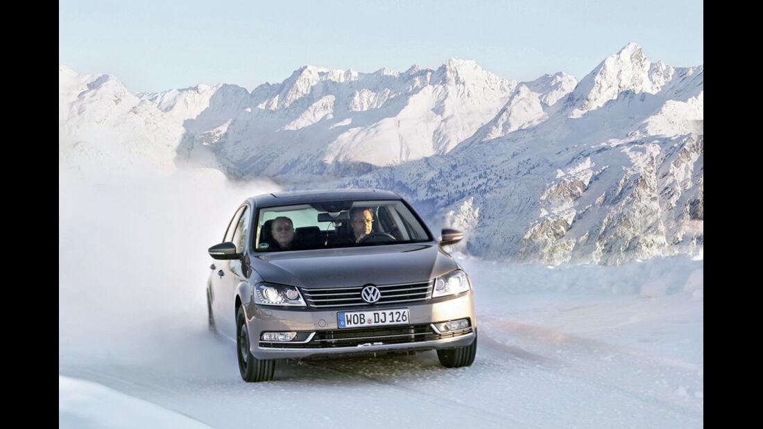 Winterreifentest, VW