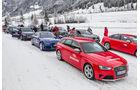 Wintertraining 2014, Fahrtraining, Bridgestone, Audi