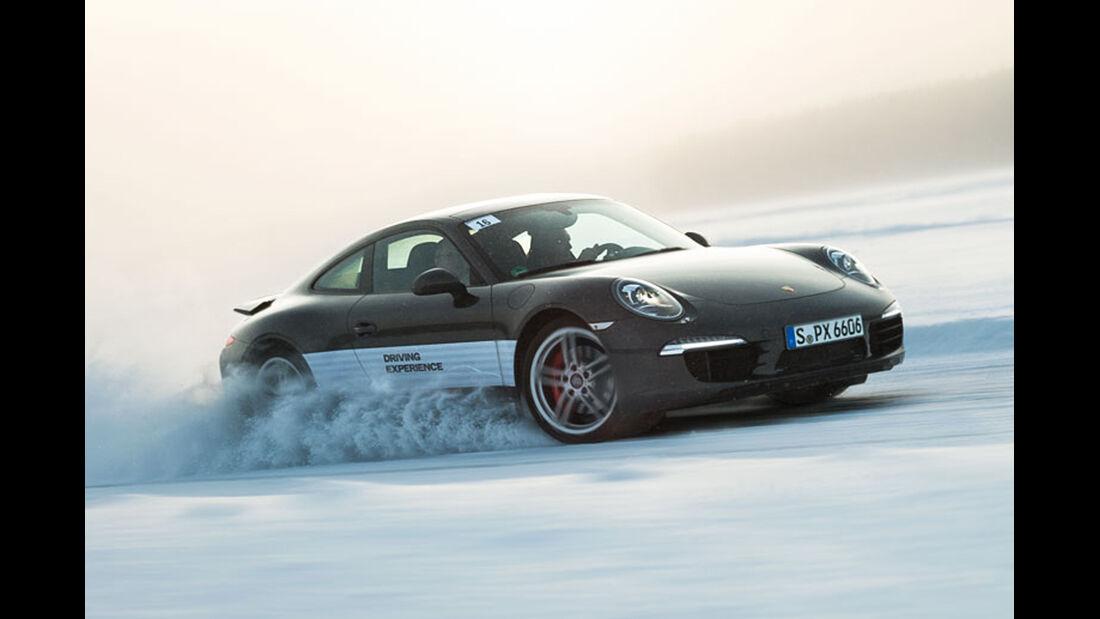 Wintertraining Porsche