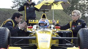 Wladimir Putin, Formel 1, Renault