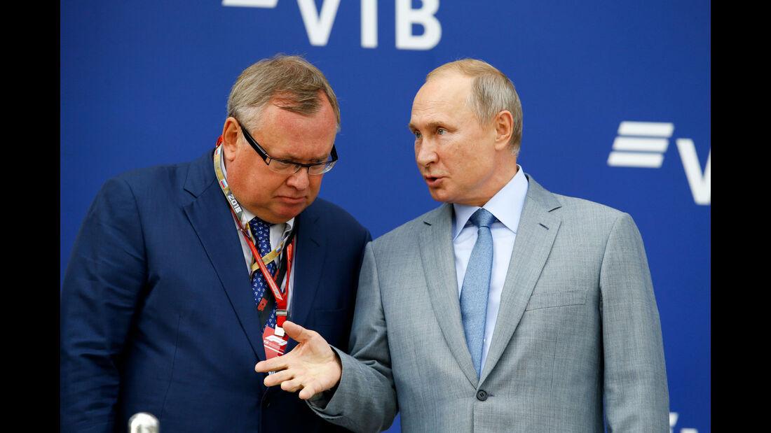Wladimir Putin - GP Russland 2018 - Sotschi - Rennen