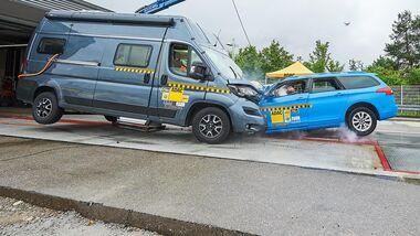 Wohnmobil-Crash