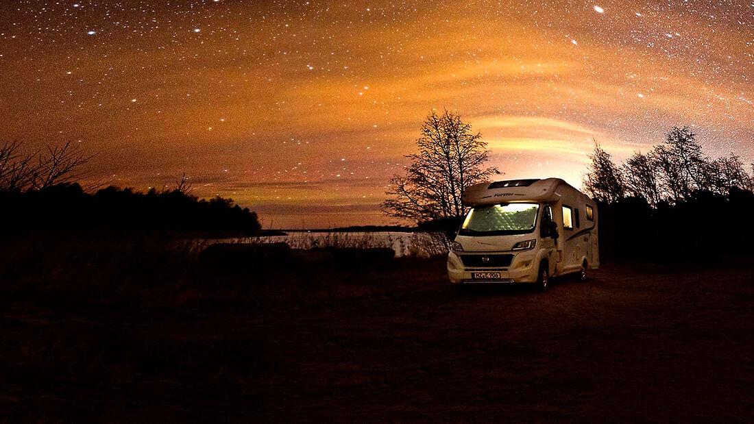 Wohnmobil-Reise Skandinavien