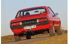 Wohnwagen-Check, Ford Granada, Heckansicht