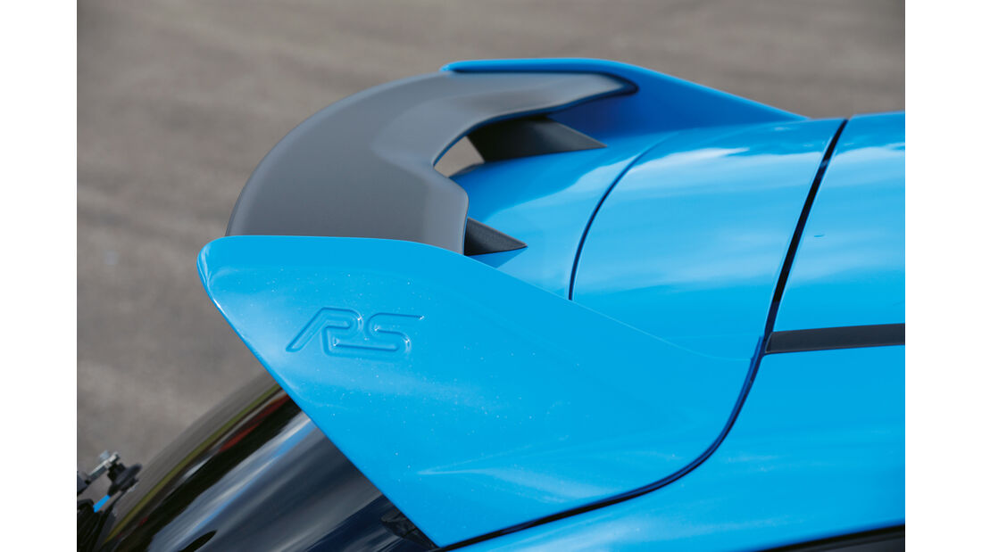 Wolf-Ford Focus RS, Dachspoiler
