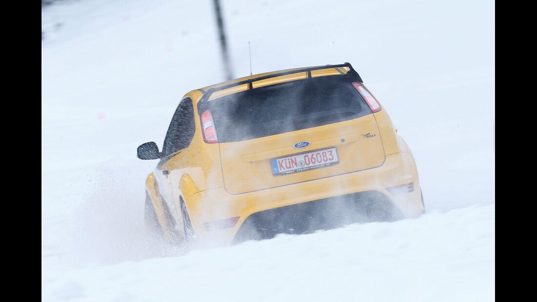 Wolf-Ford Focus RS, Heckansicht