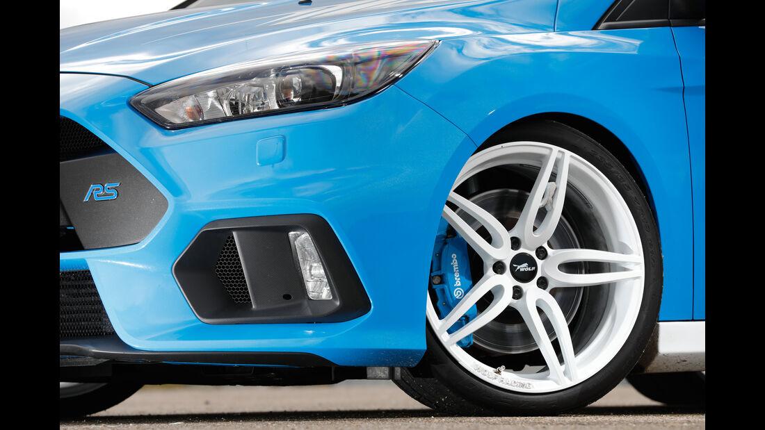 Wolf-Ford Focus RS, Rad, Felge