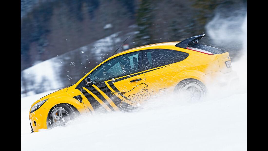 Wolf-Ford Focus RS, Seitenansicht