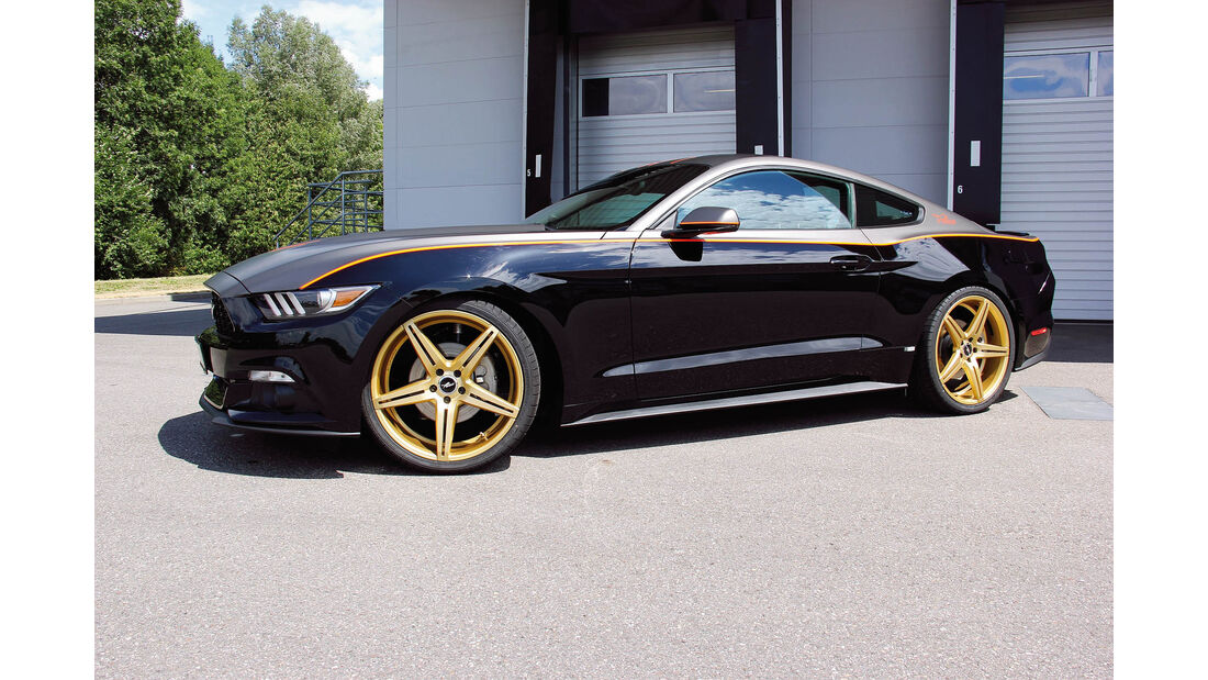 Wolf-Ford Mustang GT 5.0 V8, Tuning