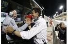 Wolff - Lauda - Lowe - Mercedes - GP Abu Dhabi 2016 - Formel 1