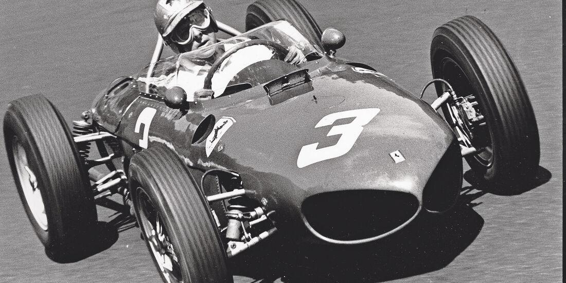Wolfgang Graf Berghe von Trips - Ferrari 156 - GP Niederlande 1961 - Zandvoort