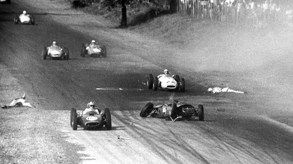 Wolfgang Graf Berghe von Trips - Ferrari Dino 156 - GP Italien 1961 - Monza