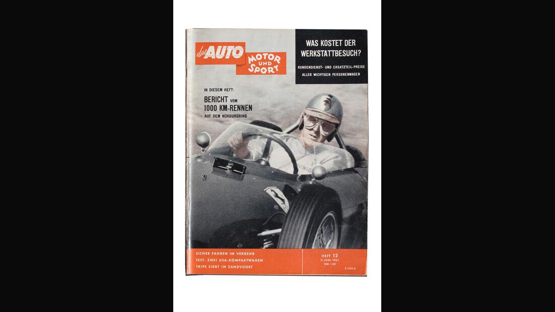 Wolfgang Graf Berghe von Trips Titelblatt Auto Motor und Sport