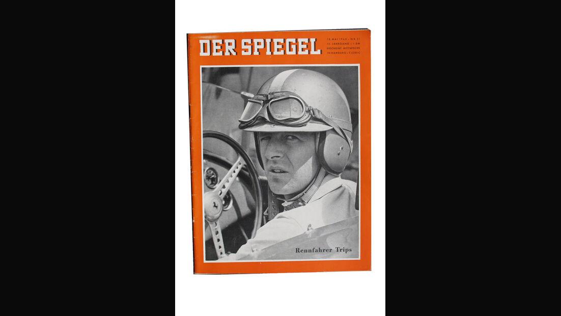Wolfgang Graf Berghe von Trips Titelblatt Der Spiegel