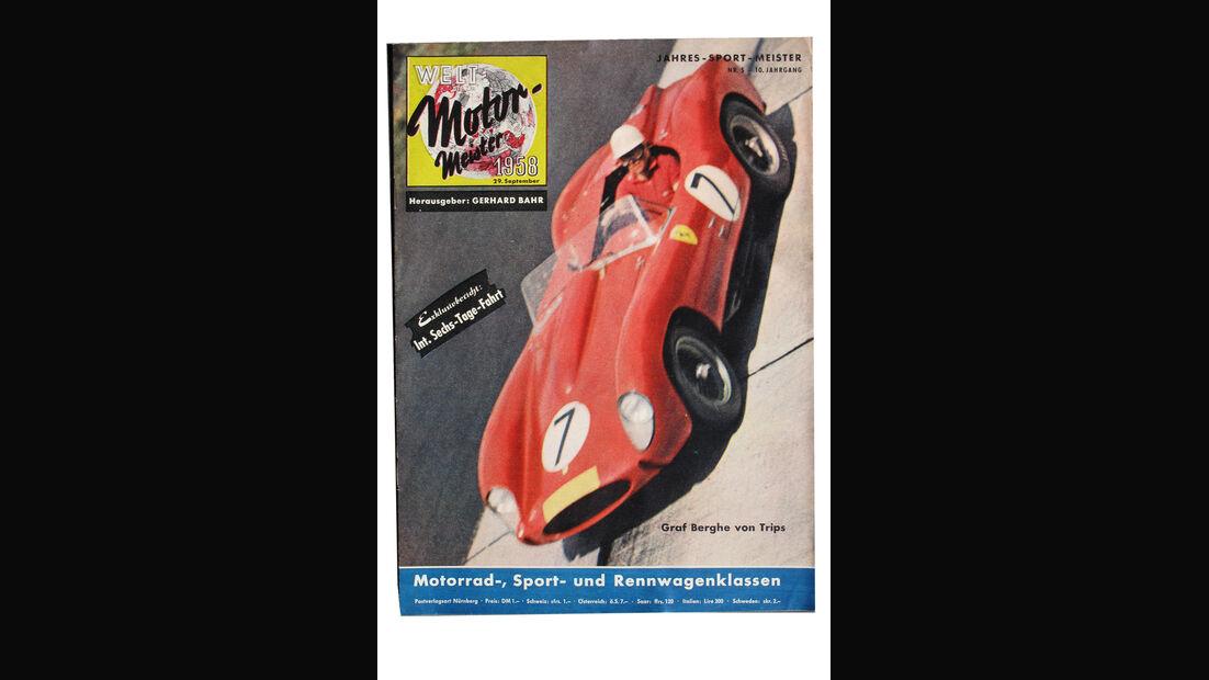 Wolfgang Graf Berghe von Trips Titelblatt Welt-Motor-Meister