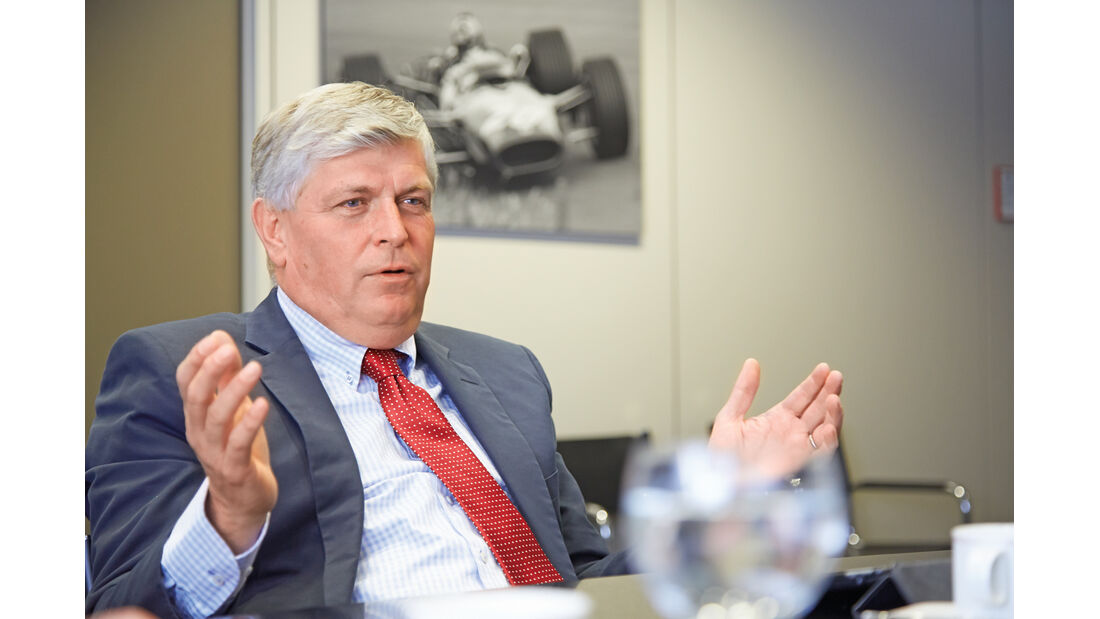 Wolfgang Hatz, Porsche, Entwicklungschef