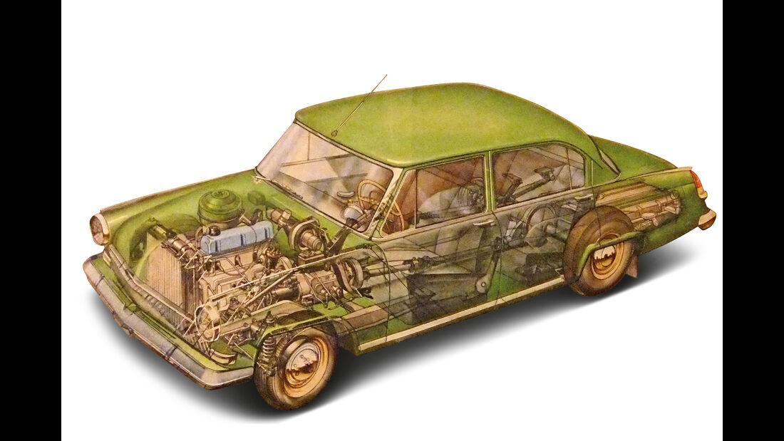 Wolga GAZ M-21, Durchsicht