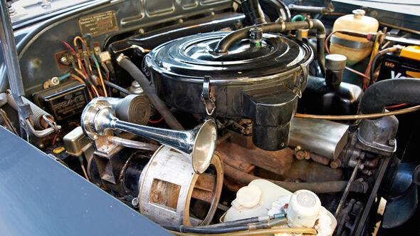 Wolga GAZ M-21, Motor