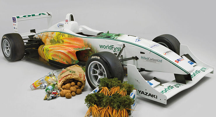 WorldFirst Formula 3 racing car