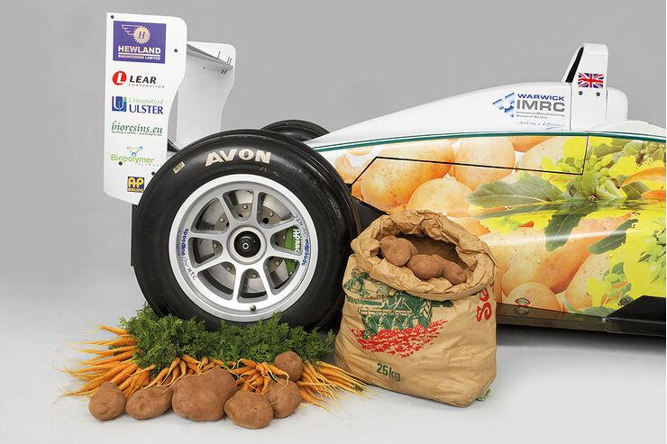 WorldFirst Formula 3 racing car