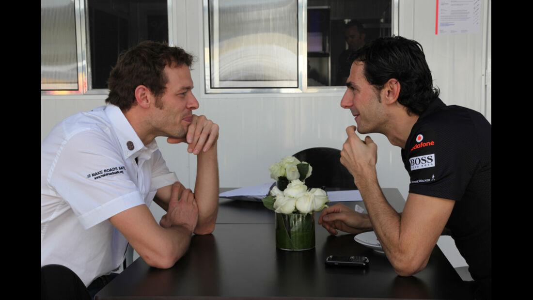 Wurz & De la Rosa - GP Brasilien - 25. November 2011