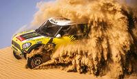 X-Raid Mini All4 Racing, Impression, Wüstensand