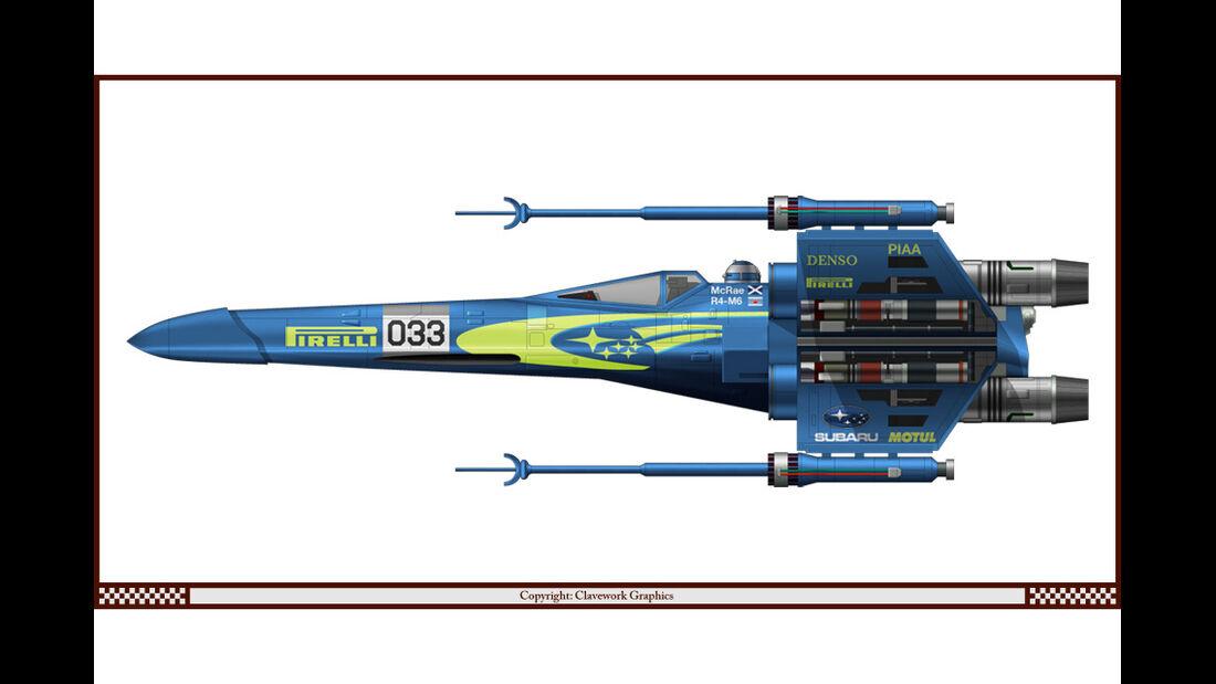 X-Wing - Subaru - Racing-Planes - 2015