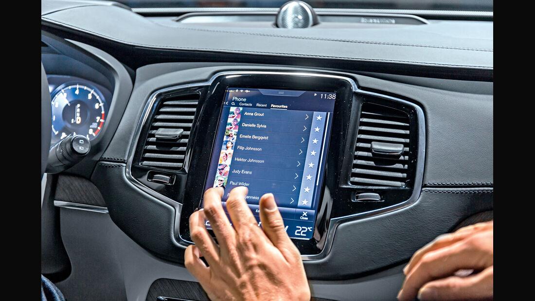 XC90-Touchscreen