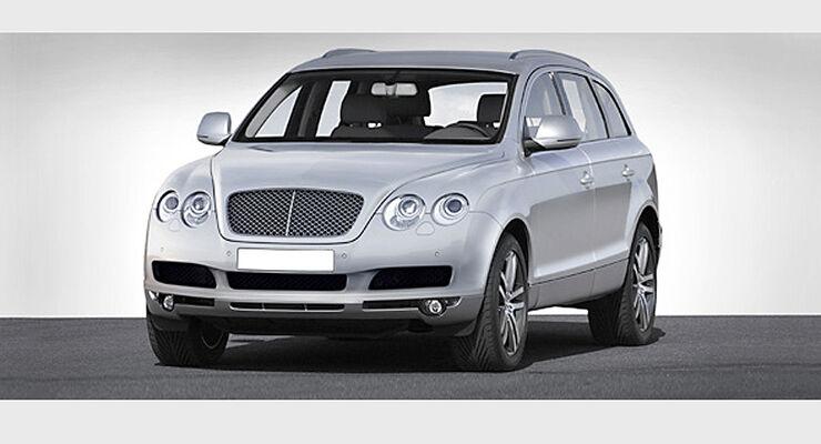 Bentley will Luxus-SUV bauen: Attacke auf Porsche und Land Rover ...