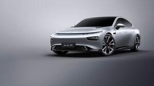 Xpeng P7 China Auto Aliexpress Gesichtserkennung Elektroauto