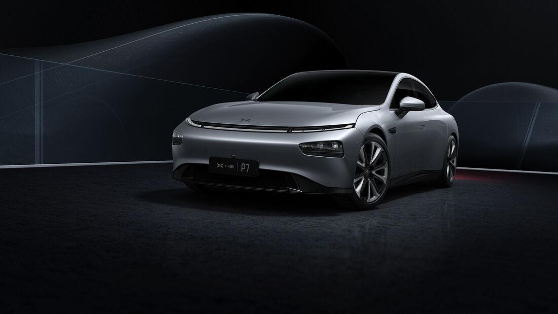 Xpeng P7 Elektroauto China