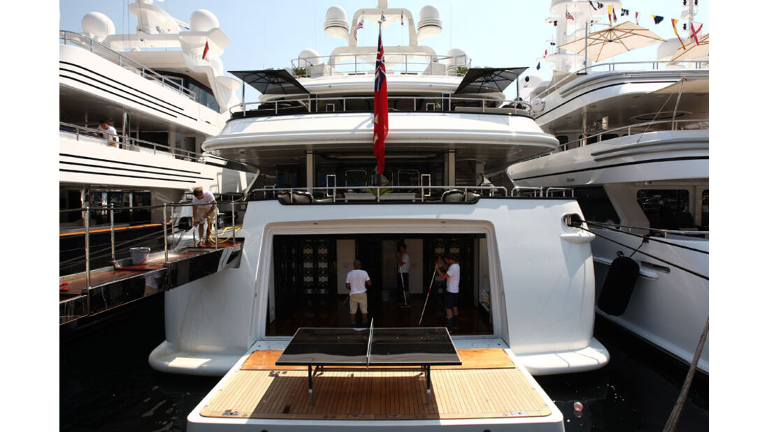Yacht - GP Monaco 2011