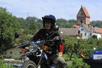 Yamaha XT 500, Fluß, Front