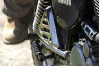 Yamaha XT 500, Hinterrad