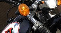Yamaha XT 500, Lenker, Stoßdämpfer